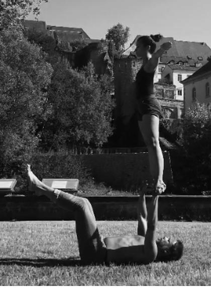 position acrobatique